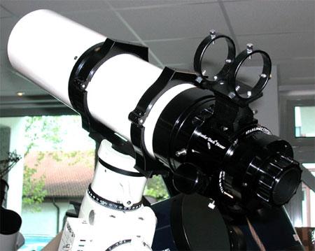 Astronomy Alive - APM LZOS Telescope Triplet Super ED APO Refractor 123/738 CNC LW II