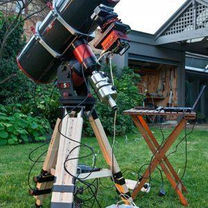 Astronomy Alive - ASA Astro Systeme Austria 10inch Astrograph Telescope - ASA10N