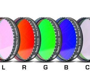 Astronomy Alive - Baader LRGBF Colour 2inch Filter Set