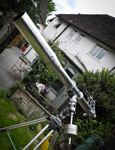 Astronomy Alive - Moonraker Nebula Class 100mm f13 Hand Crafted Refractor Telescope