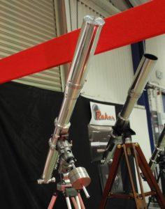 Astronomy Alive - Moonraker Nebula Class 100mm f13 Hand Crafted Refractor Telescope