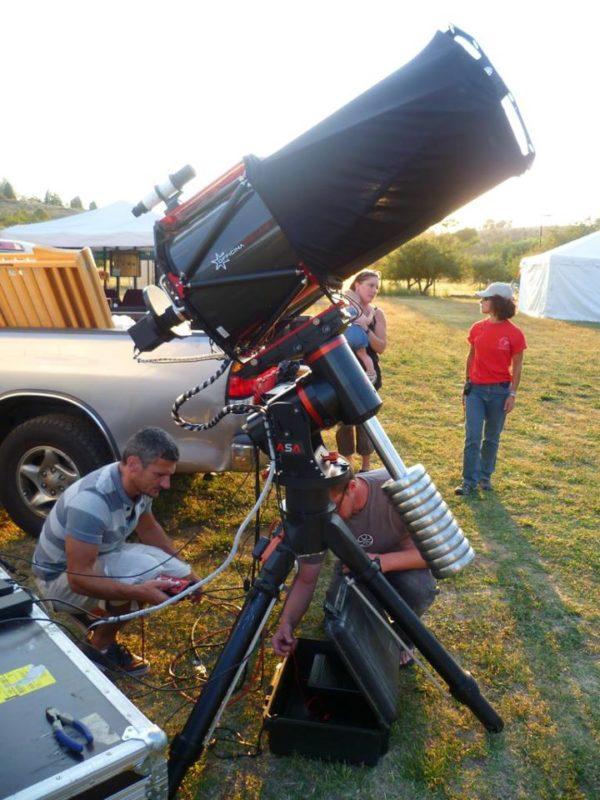 Astronomy Alive - Officina Stellare PRC400 Pro 400mm Ritchey Chretien Telescope