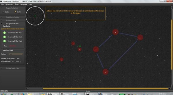 Astronomy Alive - PoleMaster by QHY Electronic Polar Alignment for Telescope