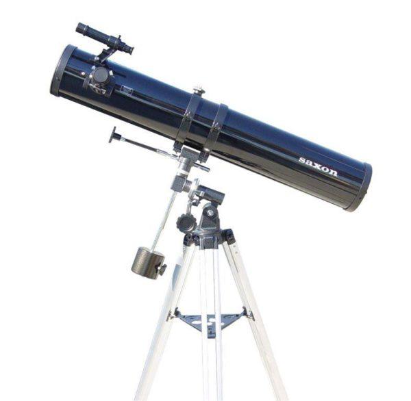 Astronomy Alive - Saxon 1149Eq 114mm Reflector Telescope