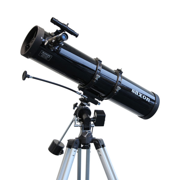 Astronomy Alive - Saxon 1309EQMS 130mm Motorised Reflector Telescope