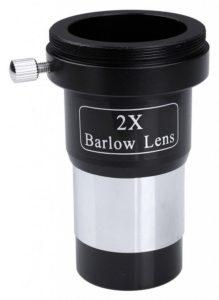 Astronomy Alive - Saxon 2X Short Barlow Lens