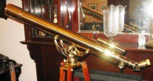 Astronomy Alive - Saxon 809B 80mm Grandeur Brass Refractor Telescope