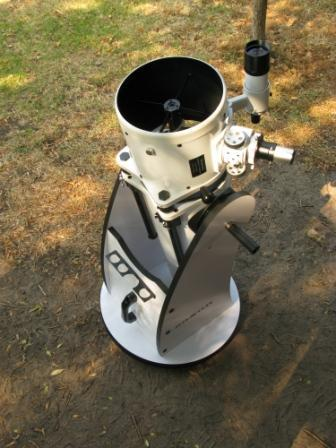 Astronomy Alive - Saxon Collapsible Dob 8 200mm reflector telescope system