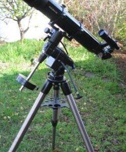 Astronomy Alive - Saxon ED120 120mm Refractor Telescope