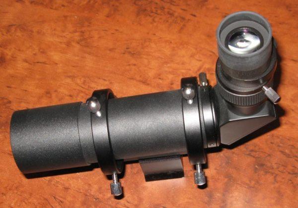 Astronomy Alive - Stellarvue 8X50 Ultra Premium finderscope & bracket