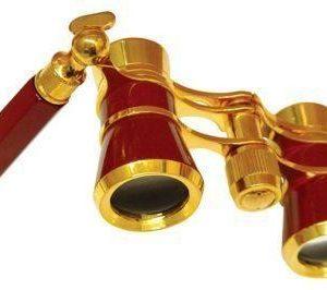 Astronomy Alive - Opera Glasses Saxon 3x25 HR Maroon