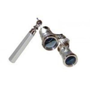 Astronomy Alive - Opera Glasses Saxon 3x25 HR Silver