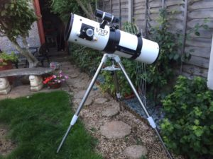 Astronomy Alive - Orion Optics UK VX8 Newtonian Reflecting telescope