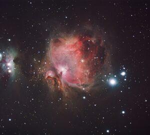 Astronomy Alive - Sky Rover Reference Series 102 APO Telescope - M42